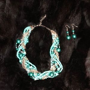 🔥5 for $25🔥Statement Necklace & Earrings